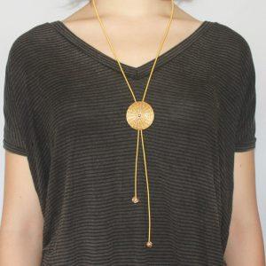 f0b4ead88af9 Collares artesanales para mujeres - Collares oro vegetal - Bisutería ...
